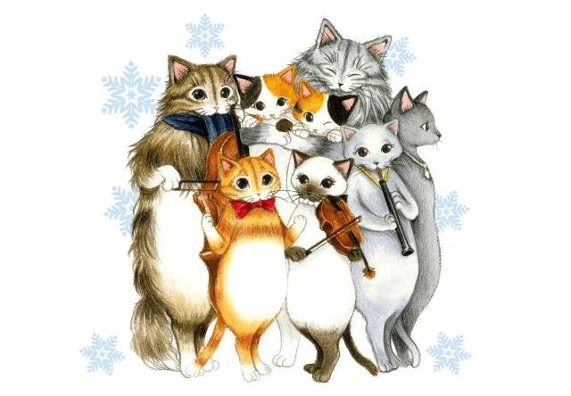 猫の音楽団をモチーフにしたブランド「キャットシンフォニカ」