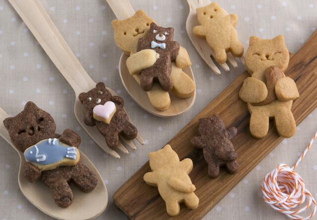 バレンタインに最適!かわいい猫のお菓子が作れる貝印の抜き型