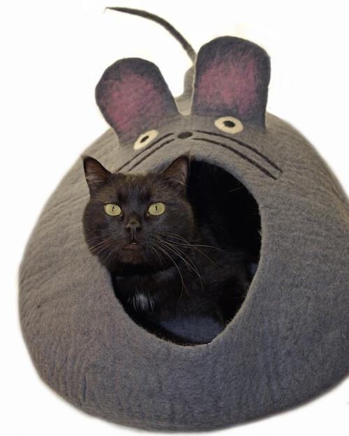 <ロアジス>ネコクーンペット用ベッド(マウス)