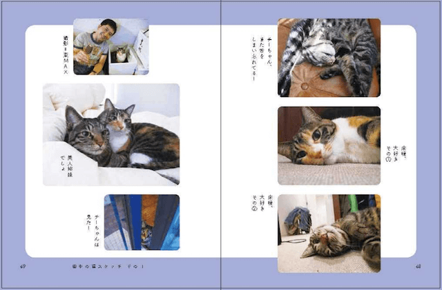 書籍「猫と田中」のスナップ写真2