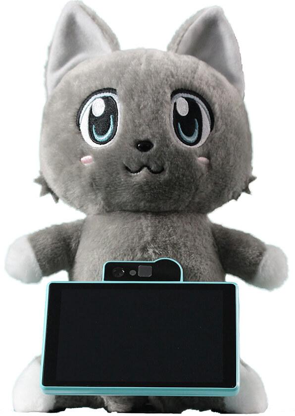ドコモとユピテルが開発中の、猫型AIロボット