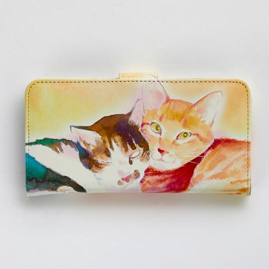 いくえみ綾の猫漫画「かわいいにもほどがある」をデザインしたスマートフォンケース1