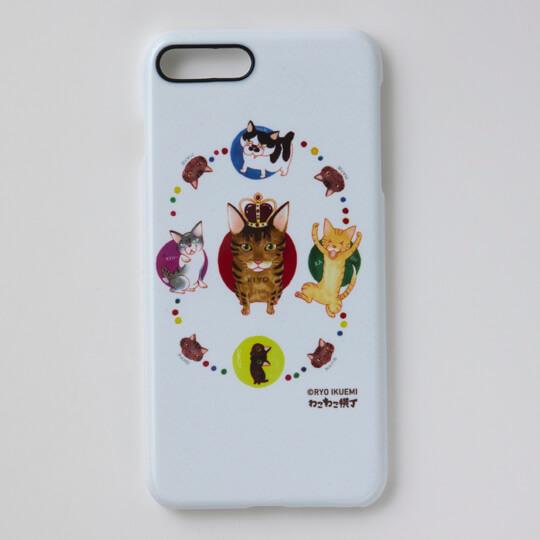 いくえみ綾の猫漫画「かわいいにもほどがある」をデザインしたスマートフォンケース2