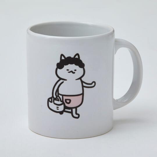 ミューズワーク(ねこまき)の猫漫画「ねこねこ横丁」をデザインしたマグカップ