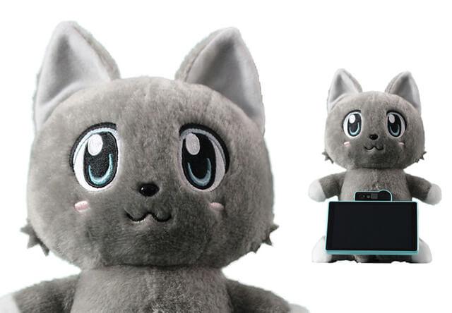 人の顔を識別して対話できるネコ型AIロボットをドコモが開発中