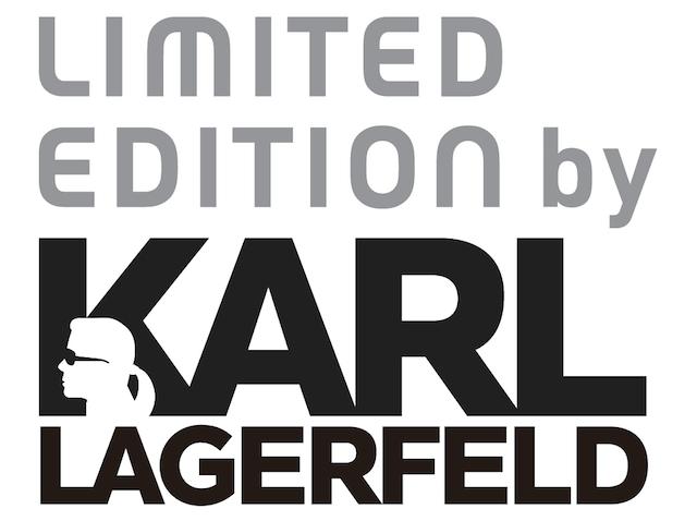 カール・ラガーフェルドと、そごう&西武がコラボして誕生したブランド「LIMITED EDITION by KARL LAGERFELD」のロゴ