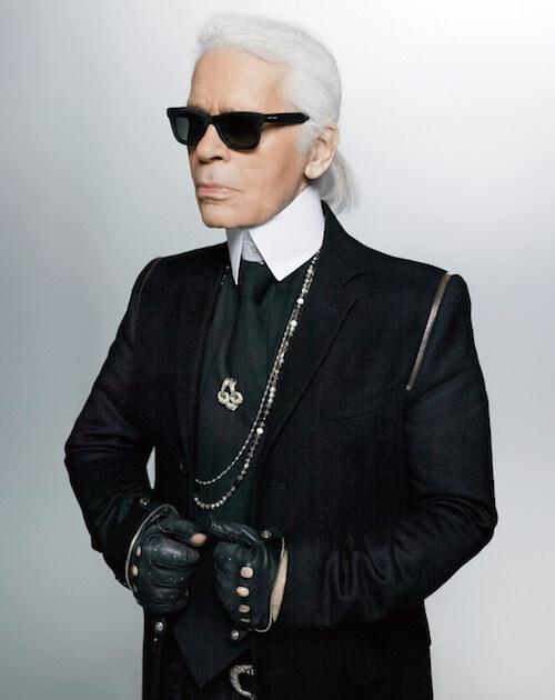 世界的ファッションデザイナー、カール・ラガーフェルド