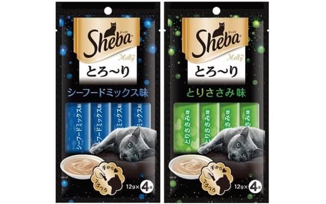 「シーバ とろ~りメルティ」シングルフレーバーシリーズの新製品2種