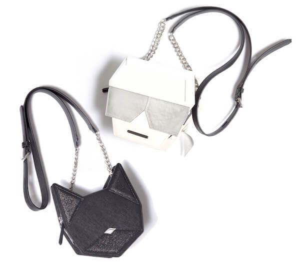 ラガーフェルド×愛猫シュペットのデザインバッグ