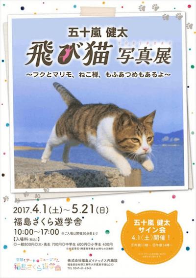 五十嵐健太・春の飛び猫写真展 全国巡回