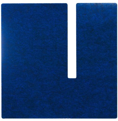 キャットタワー「necobacoT」のインディゴカラー(藍色)のコの字型ステップ