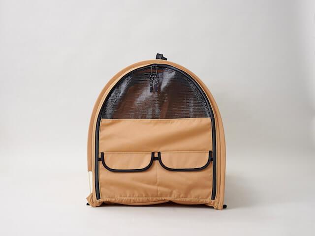 猫キャリーバッグ「ペットツインカーゴ」の真横写真