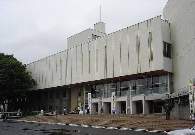 福島県文化センター(とうほう・みんなの文化センター)の外観