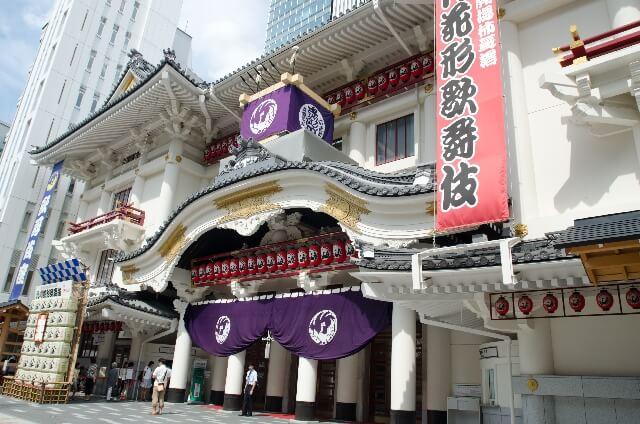 歌舞伎座の外観
