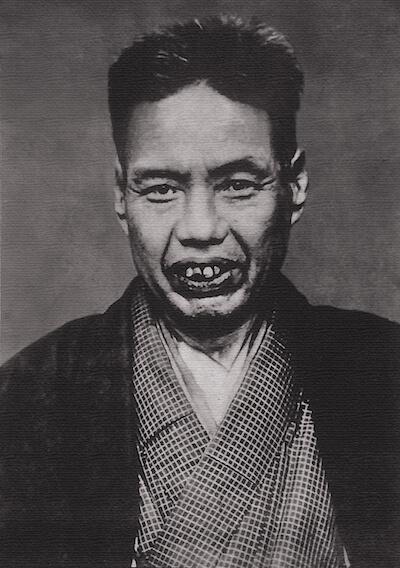 河鍋暁斎の本人写真
