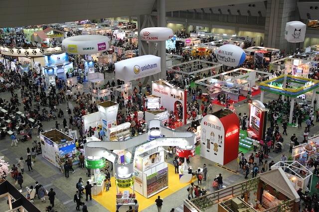 ペット業界最大規模のイベント「インターペット」、会場のビックサイトの様子