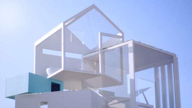 開放感のあるデザイニャーズハウス 4F