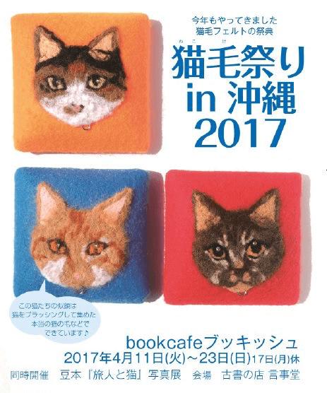 猫毛祭りin沖縄 2017