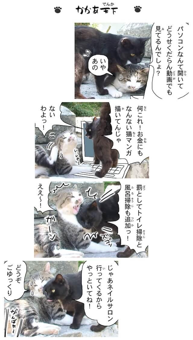 フォトコミック「田代島ねこ便り」猫マンガ誌面イメージ4