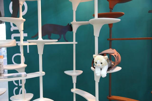 インターペットに出展している猫用品