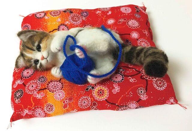 「アトリエ☆蓮」三毛猫