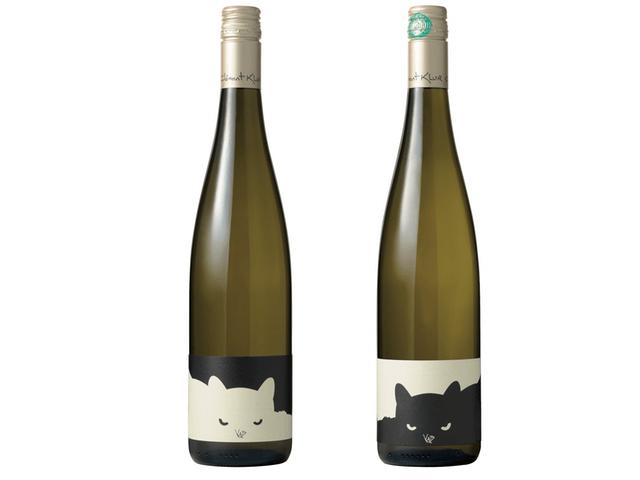 黒猫ワイン&白猫ワイン