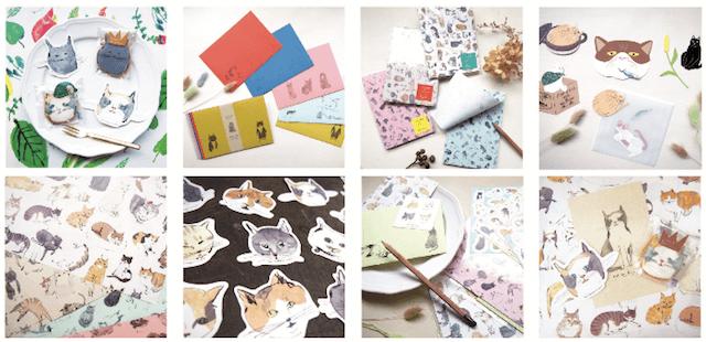 うちの猫博Vol.1で紙アイテムになった猫たち