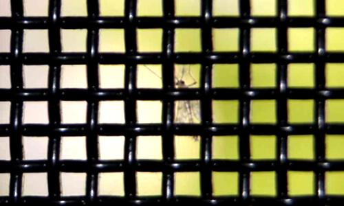 蚊も侵入できない網目サイズのSOLID-FLOW Light(ソリッドフローライト)