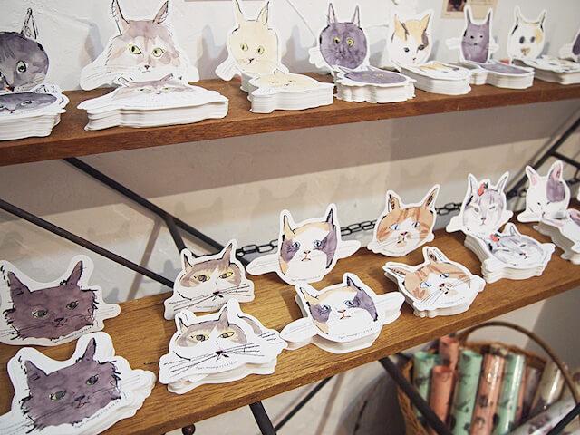 愛猫の写真を紙アイテム化して展示・販売