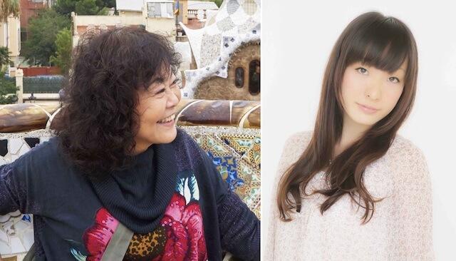 猫のダヤンの作者で画家・池田あきこ先生と、声優・平山笑美さん