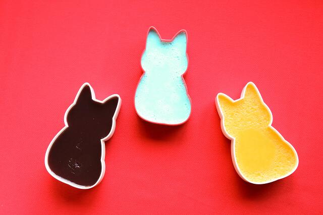 猫の形をしたお弁当箱、福ねこ弁当