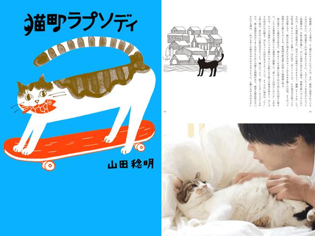 猫好きミュージシャン山田稔明氏の新刊「猫町ラプソディ」