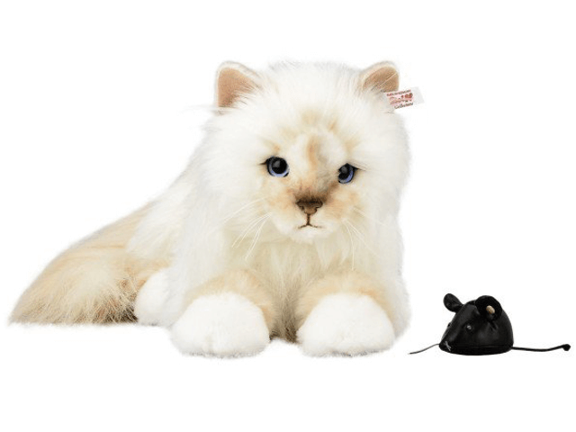 カール・ラガーフェルドの愛猫「シュペット(Choupette)のぬいぐるみ