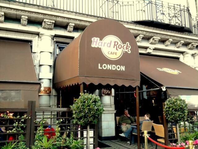 イギリス・ロンドンにあるハードロックカフェ1号店