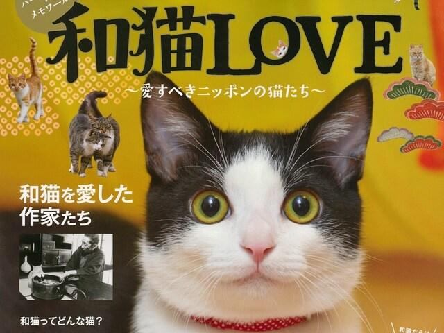 猫づくしムック「和猫LOVE 〜愛すべきニッポンの猫たち〜」