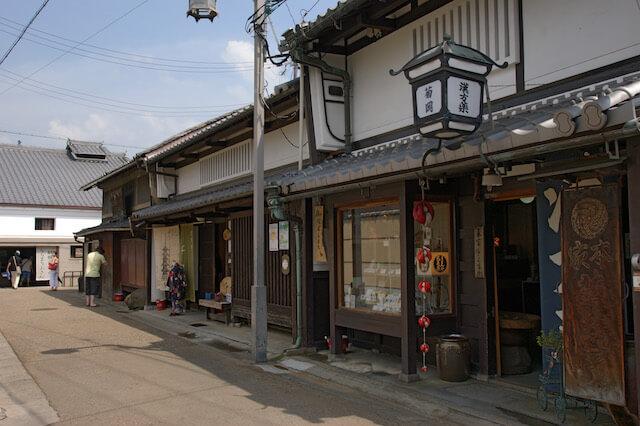 奈良町・中新屋町の町並み