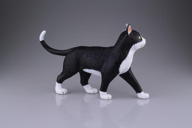 組み立て&分解できるリアルな猫の動物模型