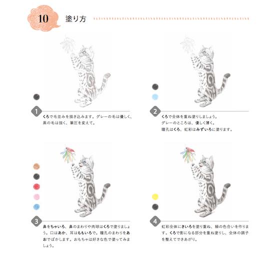 プロのイラストレーターが猫の塗り方を4ステップで解説