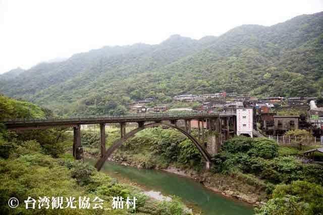 台湾の猫村・ホウトン(侯硐)