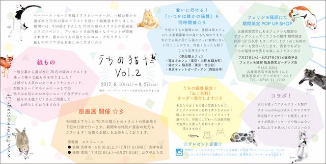 うちの猫博Vol.2で予定されている企画一覧