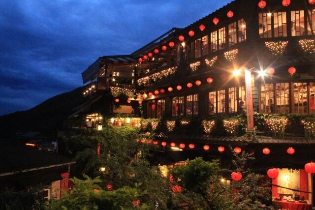 台湾のレトロな雰囲気を漂わせる町、キュウフン(九份)
