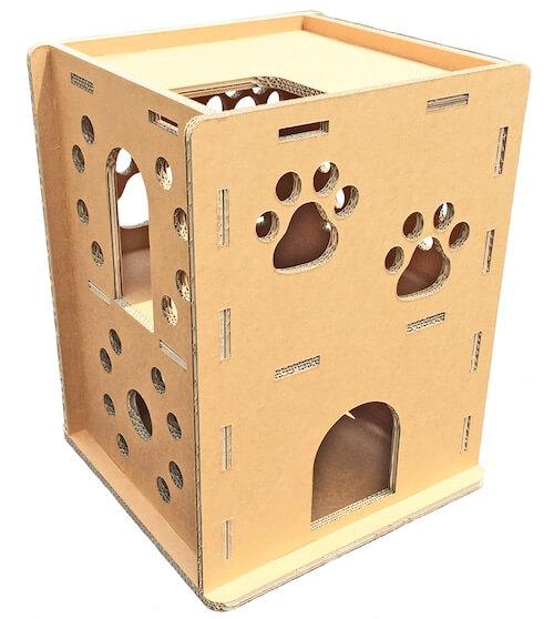 猫ハウス、ニャンだ!!ハウスの外観