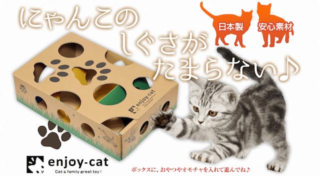 猫用の玩具「enjoy-cat・エンジョイキャット」