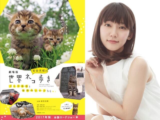 劇場版「岩合光昭の世界ネコ歩き」の本編予告映像が公開