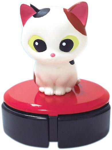 ルンバに乗った猫を再現したデスクトップクリーナー、ルンルンクリーニャーD