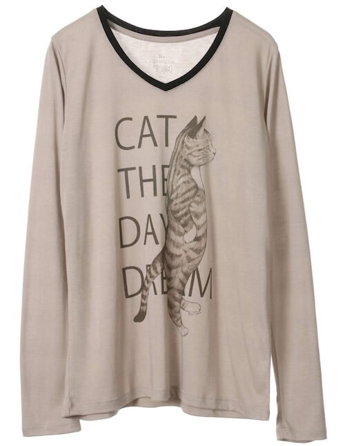 Standing cat Tシャツ by 「THE DAY DREAM(ザ デイ ドリーム)」