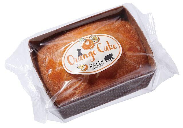 世界猫の日バッグに入っている、オリジナル オレンジケーキ