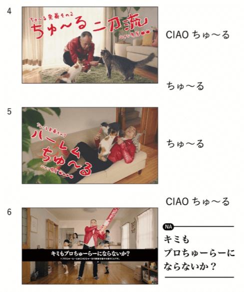田中要次さんが出演するCIAOちゅ~るのCM映像2