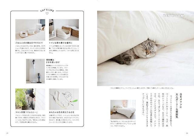 猫と暮らすインテリア実例、アートディレクターの新保良子さん2
