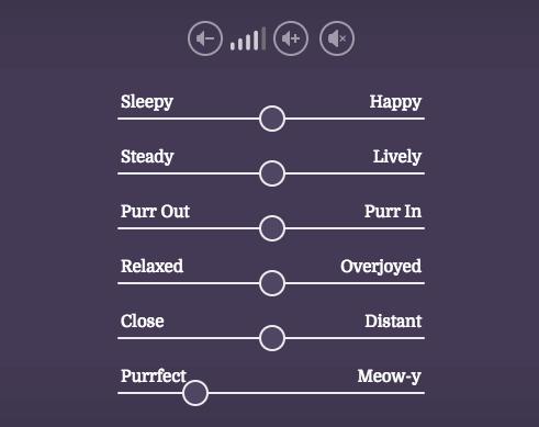 猫のゴロゴロ音を聞けるサイトPurrli.comの使い方